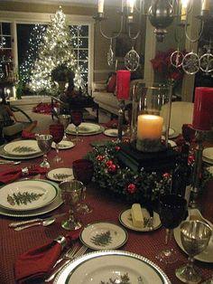 Christmas table - 2011