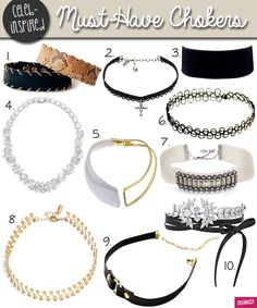 jewelry choker crafts 2016 gallery | Here are the 10 celebrity-approved chokers that you can get!