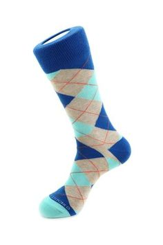 Traditional Argyle Cotton Lycra Mens Black//Navy//Grey//Brown socks 6 pairs