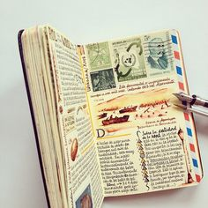 https://flic.kr/p/obdy51 | About D-Day and other things | See more of my Moleskine pages in Instagram @jose_naranja