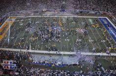 Super Bowl XL Pittsburgh Steelers Team Signed Celebration Framed Photo