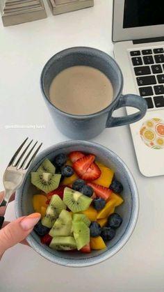 Healthy Breakfast Recipes, Healthy Snacks, Healthy Eating, Healthy Recipes, Health Food Recipes, Think Food, Love Food, Plats Healthy, Food Goals