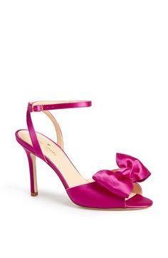 kate spade new york 'ilexa' satin sandal available at #Nordstrom