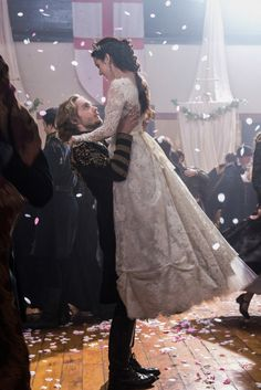 """Reign -- """"Consummation"""" -- Image Number: -- Pictured (L-R): Toby Regbo as Prince Francis and Adelaide Kane as Mary, Queen of Scots -- Photo: Christos Kalohoridis/The CW -- © 2014 The CW Network, LLC. All rights reserved. Mary Stuart, Adelaide Kane, Mary Queen Of Scots, Queen Mary, Francis Of France, Reign Mary And Francis, The Cw, Movies Showing, Movies And Tv Shows"""