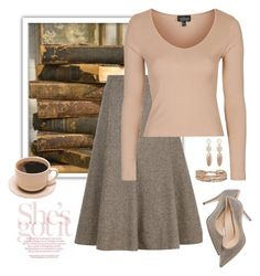 Studious by stileclassico on Polyvore featuring Topshop, Viyella, M. Gemi and Chan Luu