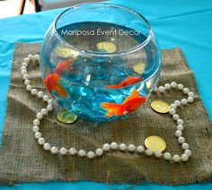 Decorations at a Pirate Party #pirate #partydecor