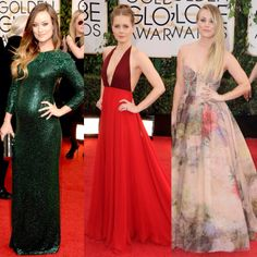 Golden Globes Best Dressed 2014…love these chics.