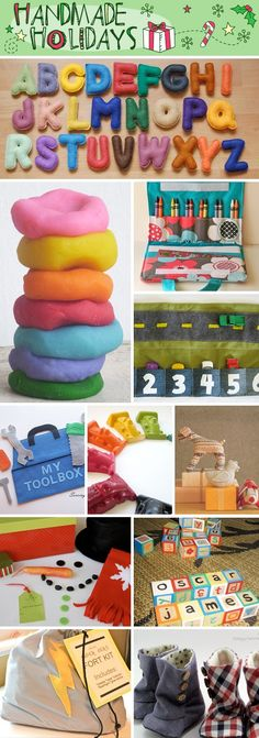 Handmade Gifts For Kids....