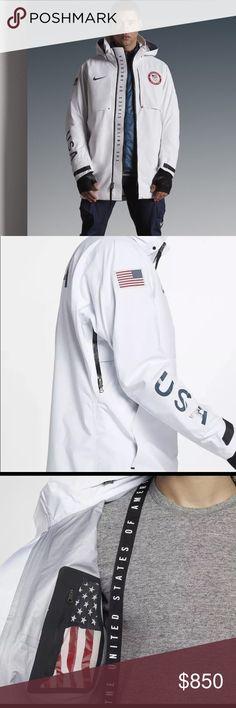 NWT NIKE Winter Olympics USA 🇺🇸 jacket NWT limited edition USA Winter  Olympics rare Nike 71e4cd1bdee