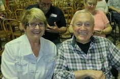 """Jacque Jabs/Special to the Record Searchlight.   Linda and Earl Bydalek of Redding attend the Shasta Historical Society's presentation """"Past, Present and Future of Shasta Speedway"""" on Saturday at the IOOF Hall in Redding. Go to www.redding.com for more Scene! photo galleries."""