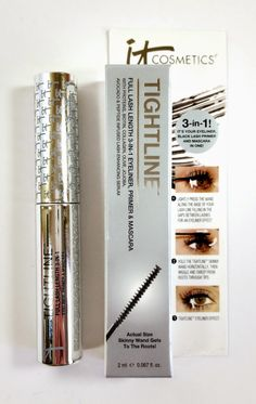 The Budget Beauty Blog: It Cosmetics Tightline Mascara Primer Review and Swatches