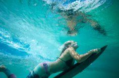 Steph Gilmore Duck Dive // Roxy Pop Surf Legging