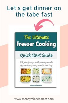Ready to fill your freezer with easy make ahead crockpot dump recipes, instant pot or casserole meals so you don't have to cook dinner every night? This FREE meal prep freezer cooking guide will help you take the stress out of freezer cooking with easy to implement tips whether your a beginner or have been freezer cooking for years. Sign up to download my ultimate freezer meals beginners guide with tips and tricks streamline your meal prep and get delicious meals in your freezer fast!!