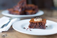 MeeNut (Almond) Butter Brownies.  Repin if you can't wait to try or like it :) #gluten free #grain free #paleo