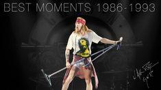 Melhores Momentos AXL ROSE 1986 - 1993 |