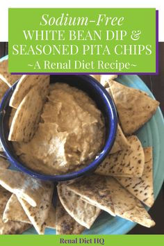 Looking for low sodium recipes for your low sodium diet or kidney disease die. Sodium Free Recipes, Low Carb Recipes, Dash Diet Recipes, Baby Food Recipes, Renal Diet Menu, Bean Dip Recipes, Kidney Friendly Foods, White Bean Dip, Low Sodium Diet