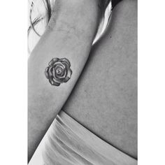 Ink Rose Tattoo Small tattoo inspiration  Black and white  tiny tattoo