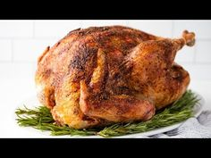 Juicy Turkey Learn how to make the juiciest turkey! All it requires is a few key tricks and a good set of thermometers to have a juicy turkey recipe people will rave over. Chef Recipes, Turkey Recipes, Chicken Recipes, Cooking Recipes, Healthy Recipes, Turkey Dishes, Donut Recipes, Meat Recipes, Recipies