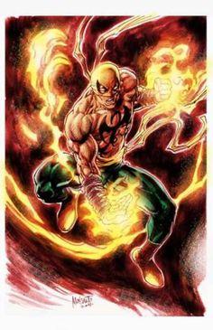 Iron Fist screenshots, images and pictures - Comic Vine Arte Dc Comics, Marvel Comics Art, Marvel Comic Books, Comic Book Heroes, Marvel Heroes, Comic Books Art, Comic Art, Marvel Comic Character, Comic Book Characters