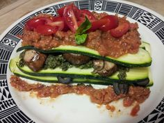Dinner! Amazing! Mimi Kirk's Raw Lasagna