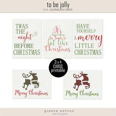 Free Journal Cards from Bina Greene {Pixel Scrapper December Blogtrain}