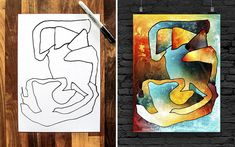 Collaboration Patterns and Digital Painting between Parent and Child | Bored Pnda