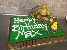 Ninja Turtles- you can bring in your own toppers ;)