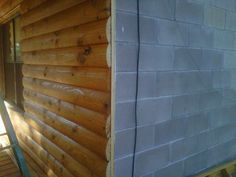 Log Cabin Siding direct from the manufacturer in Flomaton, AL - Southern Wood Specialties - P: 251-296-2556 Heart Pine Flooring, Pine Floors, Log Cabin Siding, Exterior Siding, Home Repairs, Wood, Outdoor Decor, Southern, Homes