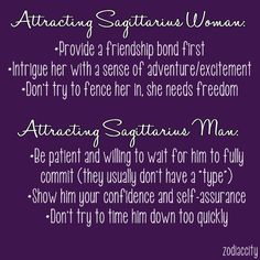How to attract sagittarius woman