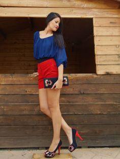 Outfit: zapatos y clutch de Rebeca Sanver
