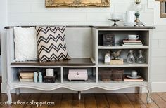 French Dresser Turned Bench