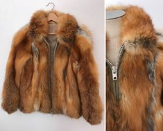 A personal favorite from my Etsy shop https://www.etsy.com/listing/601651185/vintage-70s-fox-fur-bomber-jacket-medium