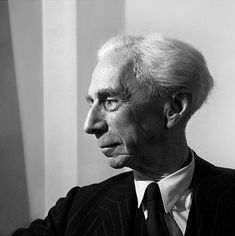 """Bertrand Russell"", 1949 ©Jane Bown"