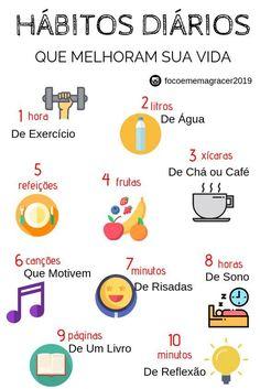 Good Habits, Healthy Habits, Healthy Life, Bullet Journal School, Instagram Blog, Life Motivation, Self Development, Better Life, Self Improvement