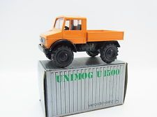 Lot 33123 | curseur 974 MERCEDES BENZ unimog u 1500 Orange 1:50 Neuf en OVP