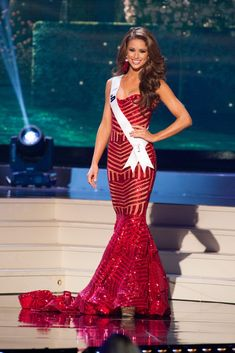Miss USA 2014 Evening Gown: HIT or MISS http://thepageantplanet.com/miss-usa-2014-evening-gown/