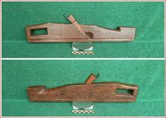 Vieux outils et art populaire: Rabot feuilleret