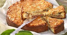Recept kaneldoftande äppeltosca Baked Goods, Banana Bread, Desserts, Food, Tips, Horoscope, Tailgate Desserts, Deserts, Essen