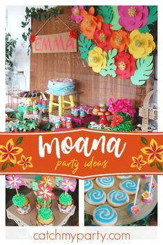 Moana Birthday Emmas Party