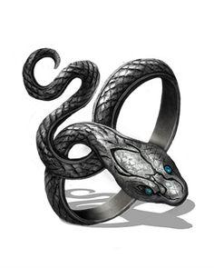 Fantasy Weapons, Fantasy Rpg, Draw Tips, Magia Elemental, Arte Cyberpunk, Dark Souls 3, Snake Jewelry, Snake Ring, Magic Ring