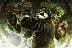 Pandaren - World of Warcraft, Valentina Remenar on ArtStation at https://www.artstation.com/artwork/xvBWX