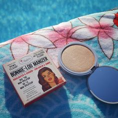The very beautiful Bonnie-Lou Manizer from The Balm Cosmetics