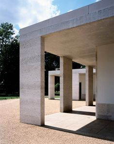 Chiswick House Cafe (London) « Caruso St John Architects