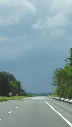 Angry Thunder Clouds, Vermont, Country Roads