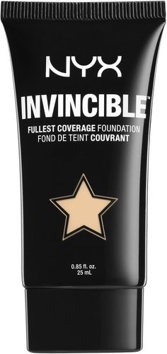 $11.99 Nyx Cosmetics Invincible Fullest Coverage Foundation