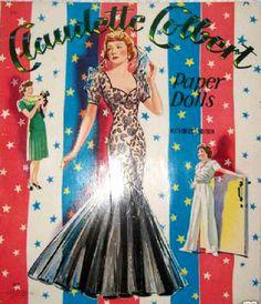 Claudette Colbert 1943 Saalfield #2460 m - Bobe - Picasa Web Albums