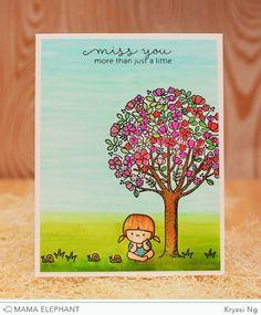 mama elephant | design blog: Mama Elephant + Operation Write Home Blog Hop
