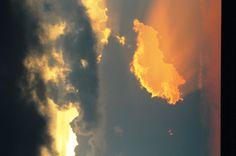 tropical thunder sunset