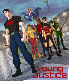 Young Justice - Jerome Moore