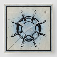 Vintage Nautical Ship's Wheel for Navigation Square Wall Clock infant fathers day gifts, cute fathers day gifts, fathers day cards diy Easy Fathers Day Craft, Fathers Day Weekend, Gifts For Father, Diy Father's Day Gifts, Father's Day Diy, Happy Father Day Quotes, Happy Fathers Day, Ship Wheel, Vintage Nautical